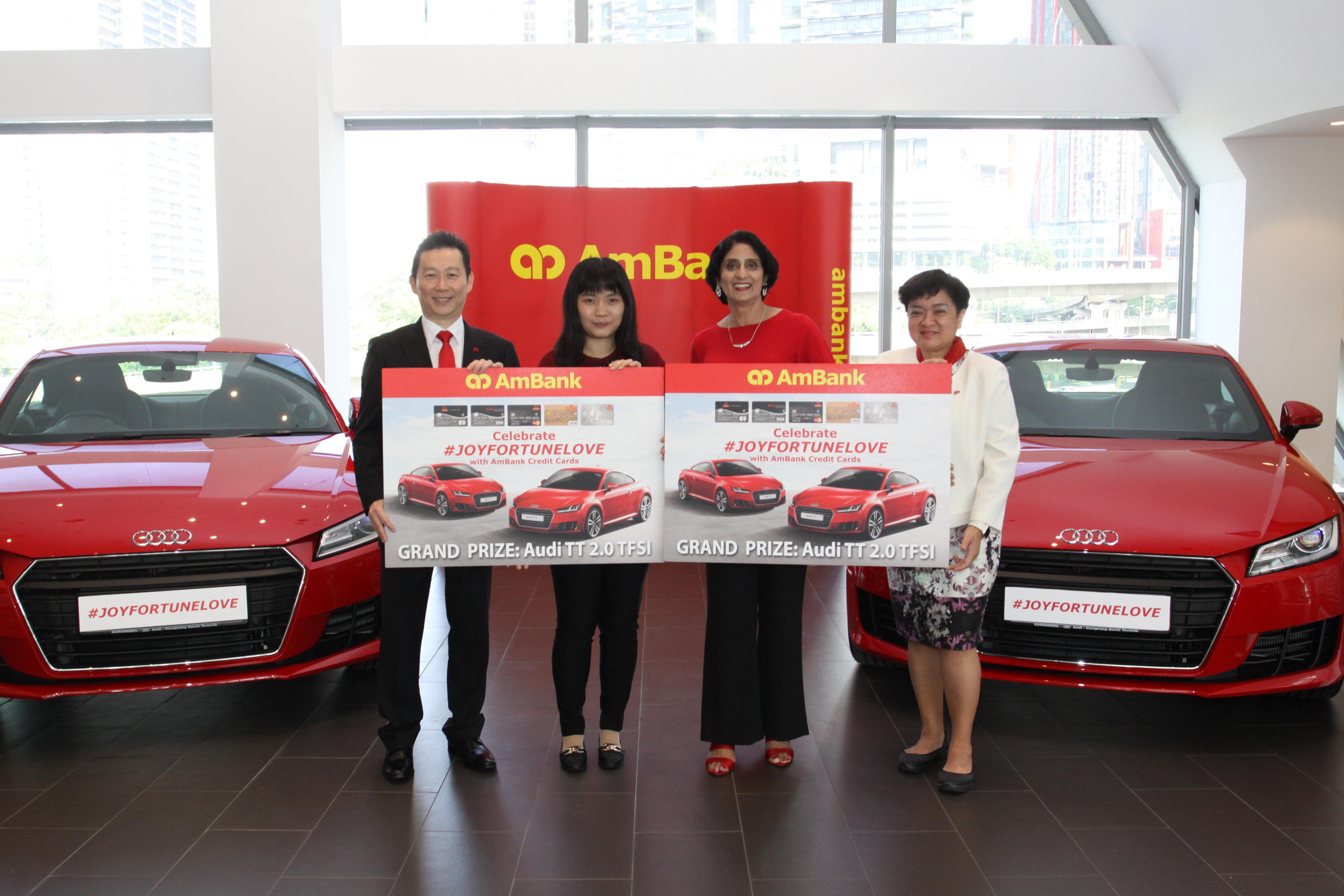 Ambank Rewards Two Grand Prize Winners Of The Joyfortunelove