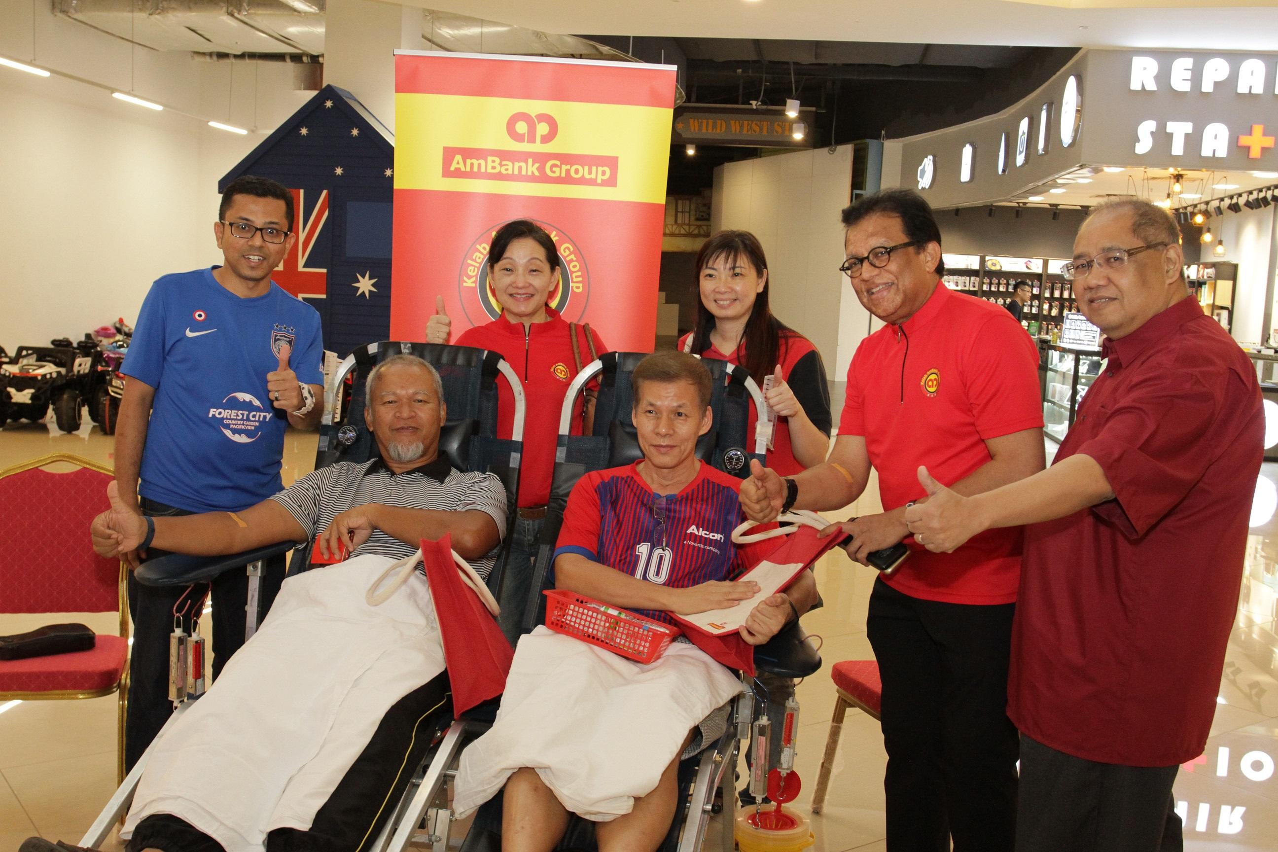 Kelab AmBank Group Blood Donation Drive 2019 in Johor